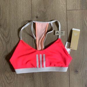 Adidas 3 Stripe Mesh Sports bra